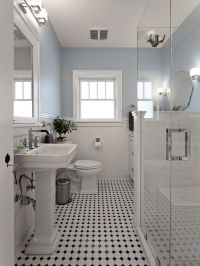 17 Best ideas about Black White Bathrooms on Pinterest ...
