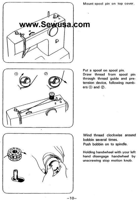 sewing machine threading diagram sewing pinterest threading