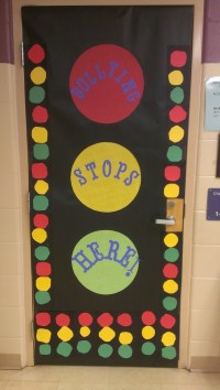 Anti-Bullying Door Display The kids made all the stop ...