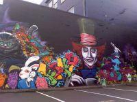 alice in wonderland street art | Street art | Pinterest ...