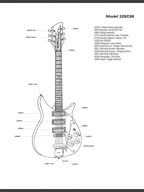 rickenbacker 325 wiring diagram