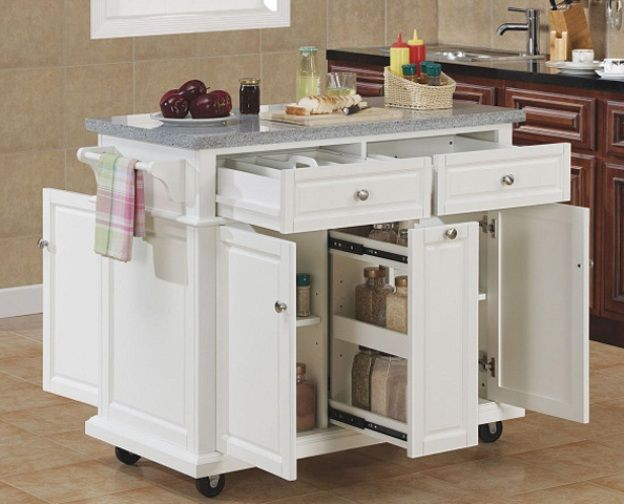 Building A Kitchen Island With Ikea Cabinets Best 25+ Mobile Kitchen Island Ideas On Pinterest