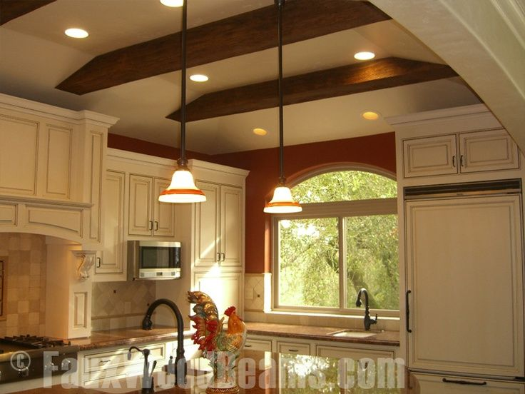 1000+ ideas about Wood Ceiling Beams on Pinterest