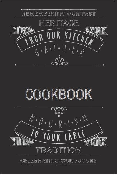 free cookbook template downloads