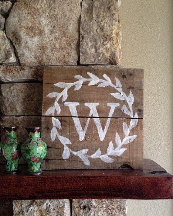 wood monograms