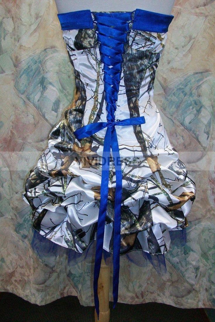 camo camouflage wedding dresses camo wedding dress Camo And Blue Wedding Dresses Maternity dress size chart