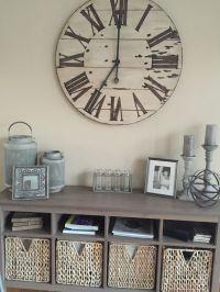 Best 25+ Wall clock decor ideas on Pinterest   Large clock ...