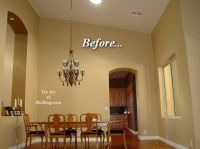 1000+ images about Tall Ceilings - Crown Molding, Uplights ...