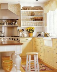 25+ best ideas about Yellow Kitchen Cabinets on Pinterest ...
