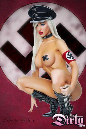 anime nazi girl