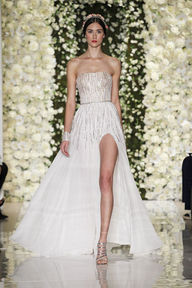 bridal market fall wedding gowns Reem Acra Fall Celebrity Wedding DressesCelebrity