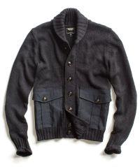 Black Military Shawl Jacket Sweater | Products | Pinterest ...
