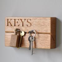 25+ Best Ideas about Wooden Key Holder on Pinterest | Key ...
