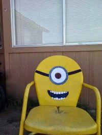 Minion chair   Minion ideas   Pinterest   Minions and Chairs