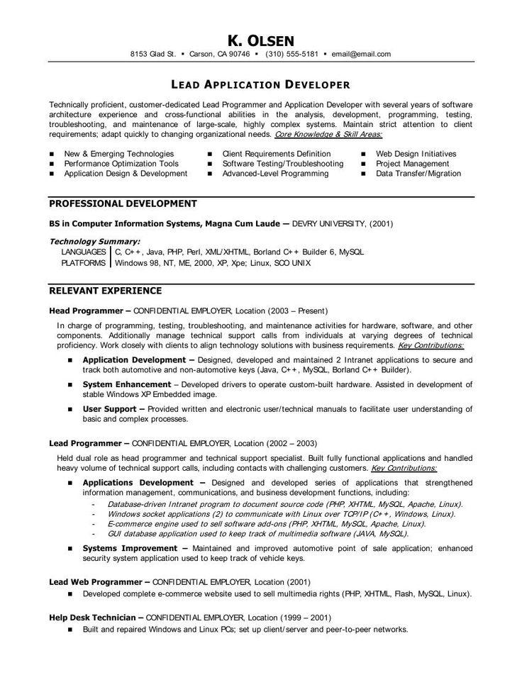statistician resume samples