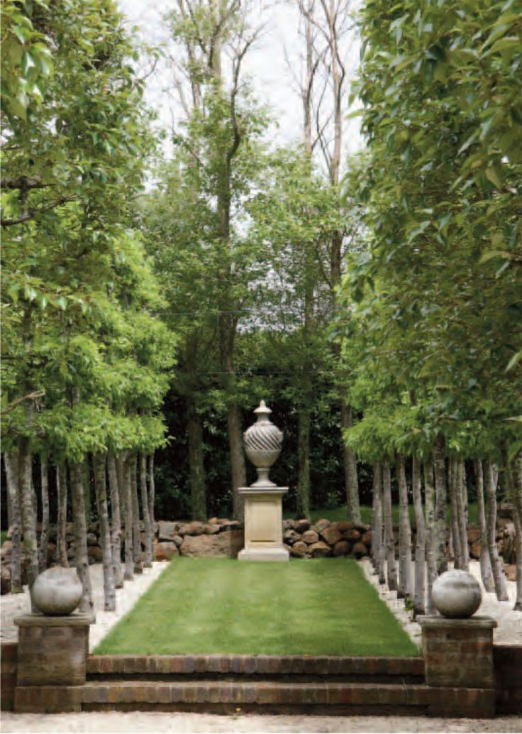 small formal garden photos