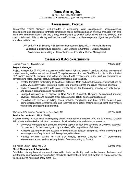 wealth management business analyst sample resume