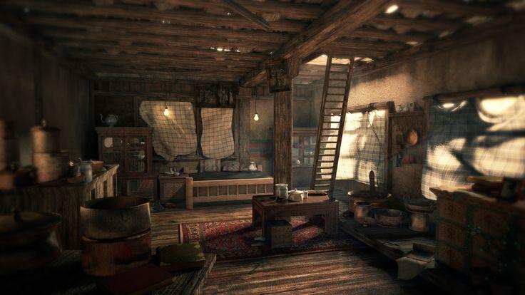 Bioshock Infinite Falling Wallpaper Hd Uncharted Room Interior Scenes Design Pinterest Game