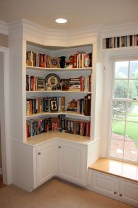 Best 25+ Corner bookshelves ideas on Pinterest | Building ...