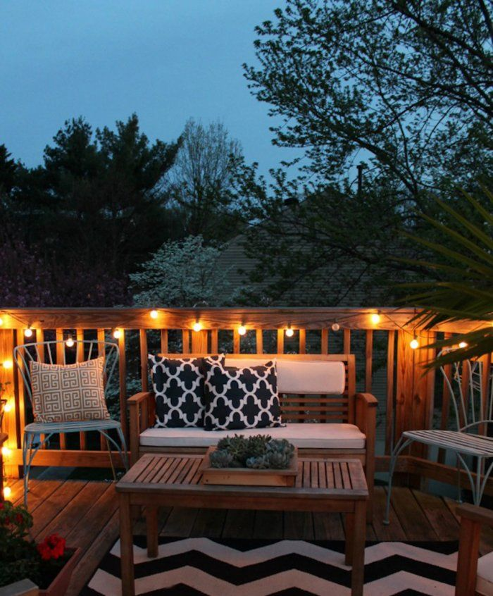 25+ best ideas about Outdoor deck decorating on Pinterest