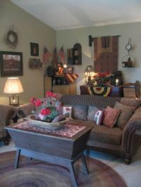 17 Best images about Primitive Americana -- living room ...