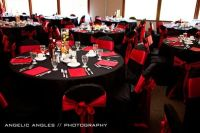 Black and Red table settings | Red Raiders | Pinterest ...