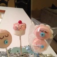 Baby Shower Marshmallow Pops   Baby shower   Pinterest ...
