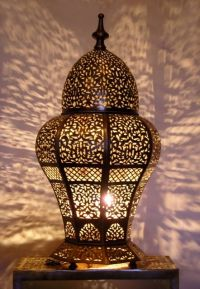 Moroccan table light, Table lamp. Moroccan Decorating by ...