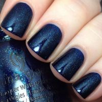 The 25+ best Dark blue nails ideas on Pinterest | Fall ...