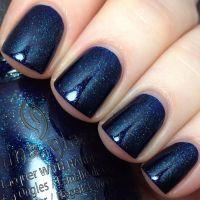 25+ best ideas about Dark Blue Nails on Pinterest   Winter ...