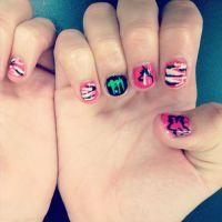 Country girl nails. Nail art | Taylor'd Nails (my nail ...