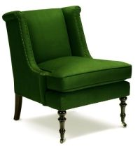 Lee Joffa emerald green chair | Gorgeous Green | Pinterest ...