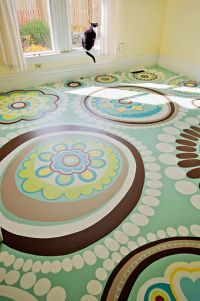 25+ best ideas about Painted floors on Pinterest | Painted ...
