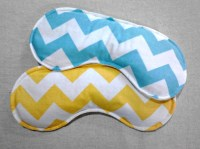 CHEVRON EYE PILLOW Rice pack rice pillow cold pack ...
