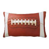 Football Pillow | Throw Pillows | Pinterest | Love this ...