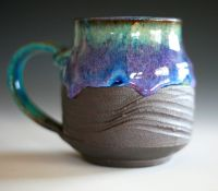 Large Coffee Mug, 18 oz, handmade ceramic cup, coffee cup ...