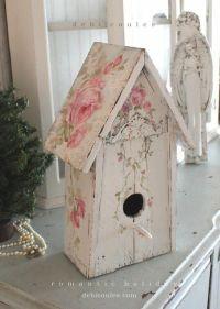 Best 25+ Shabby Chic Birdhouse ideas on Pinterest ...