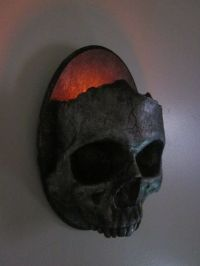 Gothic Skull Sconce Candle Holder | Design | Pinterest ...
