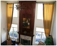 images tall window curtains | ... For Tall Windows ...