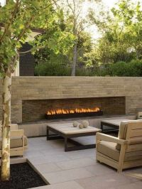 Best 10+ Outdoor gas fireplace ideas on Pinterest