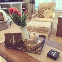 Cottage/Country Living Room photo by Yellow Prairie ...