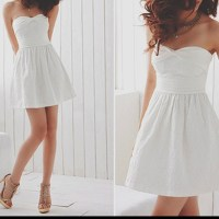 Cute and so simple (Graduation dress)   Graduation 2014 ...