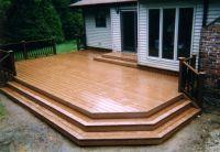 25+ best ideas about Small backyard decks on Pinterest ...