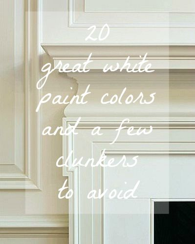 1000+ Ideas About Best White Paint On Pinterest | White Paint