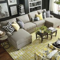 Family Room Sectional on Pinterest. A selection of the ...