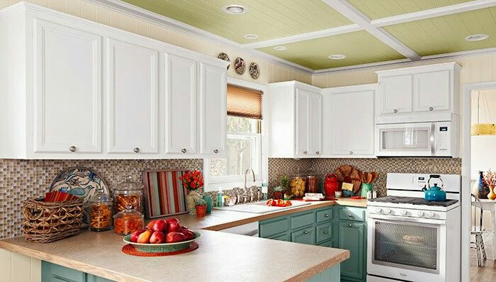 Lowes Wheat Kitchen Cabinets 1000+ Images About Darker Ceiling On Pinterest | Painted