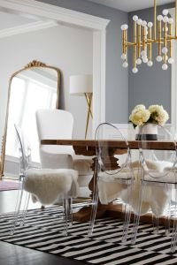 25+ best ideas about Lucite Chairs on Pinterest | Clear ...