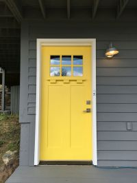 Door Colors For Yellow House. Finest The Vibrant Yellow ...
