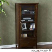 Holly & Martin Williamson Media Tower-Espresso | Living ...