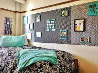 Black, white and mint dorm room | Room decor | Pinterest ...